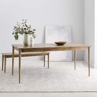 west elm Modern Farmhouse Dining Table - Carob