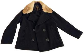 Fidelity Black Wool Jacket for Women