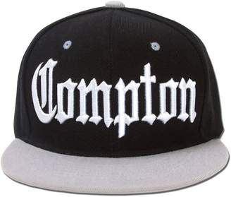 Abercrombie & Fitch Snaps Compton City Snapback Hat Cap - / Grey