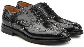 Church's Burwood Embellished Leather Brogues