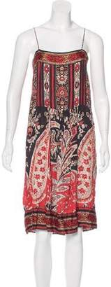 Etoile Isabel Marant Abstract Print Sleeveless Dress