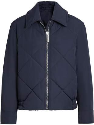 Burberry Quilted Technical Cotton-blend Jacket