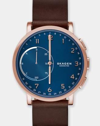 Skagen Hybrid Smartwatch Hagen Connected Brown and Blue