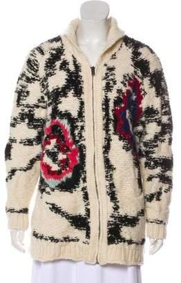 Etoile Isabel Marant Knit Button-Up Cardigan
