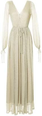 Zac Posen long cocktail gown