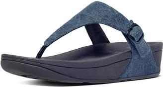 FitFlop The Skinny Denim Toe-Thongs