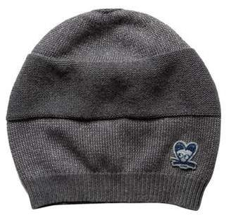 Little Marc Jacobs Girls' Knit Metallic-Accented Beanie