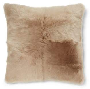 Ralph Lauren Bircham Shearling Throw Pillow