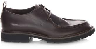 Tod's Lug Sole Leather Loafers