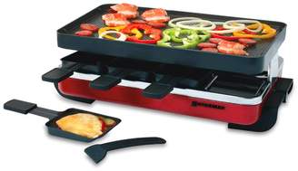 Swissmar Classic Raclette Party Grill with Reversible Cast Aluminum Grill Plate