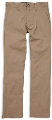 ac2ec709af5d Volcom Boys  Youth Frickin Modern Straight Chino Pants - Big Kid