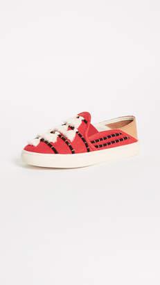 Soludos Convertible Tassel Slip On Sneakers