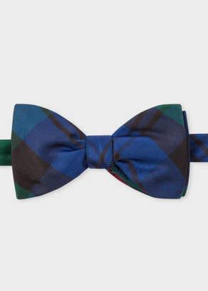 Paul Smith Men's Tartan Silk Bow Tie