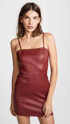 Alexander Wang Leather Cami Dress