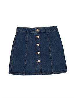 David Jones Girls Denim Skirt