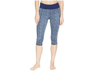 Tommy Bahama Active Patchwork Reversible Capri Leggings Cover-Up Women's Swimwear