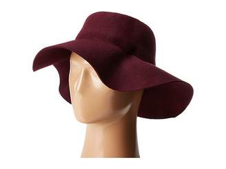 San Diego Hat Company WFH8057 Pleated Crown Floppy Hat