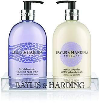 Baylis & Harding Baylis and Harding French Lavender 2 Bottle Hand Wash and Lotion Set