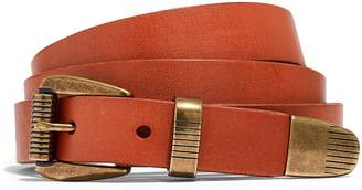Madewell Leather Three-Piece Belt