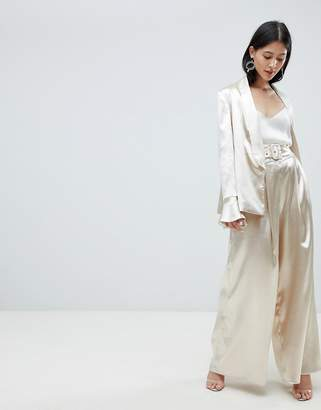 Finders Keepers Finders satin wide leg pants