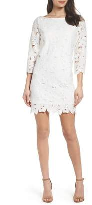 Felicity & Coco Belza Floral Lace Shift Dress