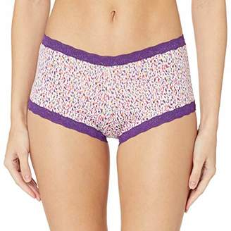 Maidenform Women's Dream Shorty Microfibre & Dentelle Boy Shorts Pantie