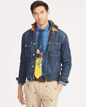 Ralph Lauren Hi Tech Hooded Trucker Jacket