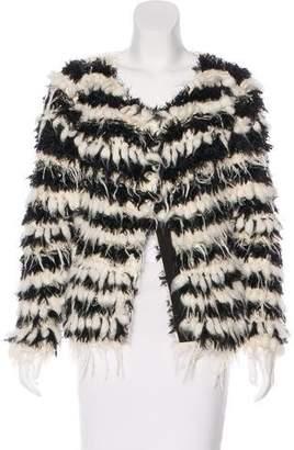 Chloé Mohair-Blend Textured Jacket w/ Tags