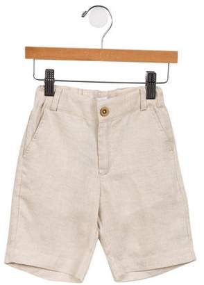 Babiene Boys' Linen Straight-Leg Shorts w/ Tags