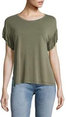 Jessica Simpson Ruffled-Sleeve Top