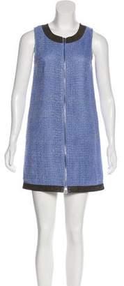 Kelly Wearstler Mini Zip-Up Dress