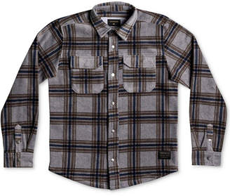 Quiksilver Surf Days Plaid Shirt, Big Boys