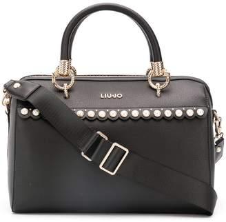 Liu Jo pearl embellished tote bag