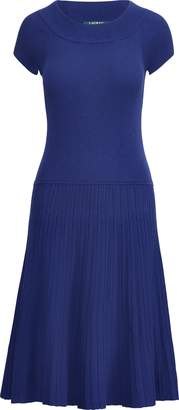 Ralph Lauren Fit-and-Flare Dress