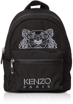 Kenzo Black Tiger Nylon Mini Backpack