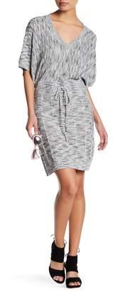 Vertigo Marled Dolman Space Dye Dress