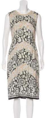 Clements Ribeiro Printed Silk Dress