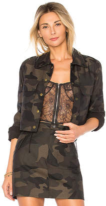 by the way. Hunter Camo Crop Jacket