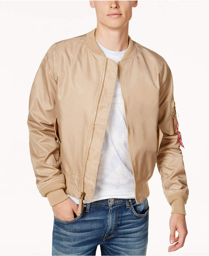 Ring of Fire Men's Fly-Weight Bomber Jacket, Created for Macy's
