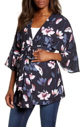 Angel Maternity Blooming Maternity Wrap Top