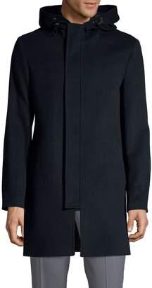 1670 Long-Sleeve Wool-Blend Coat