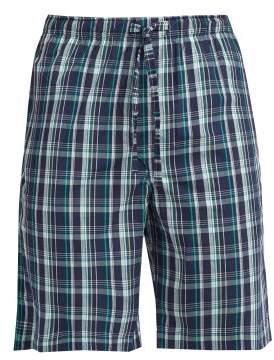 Derek Rose Barker Tartan Cotton Pyjama Shorts - Mens - Multi