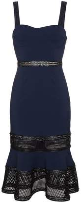 Jonathan Simkhai Strappy dress with studded leather trim