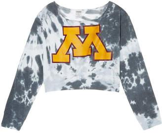 PINK University of Minnesota Off-The-Shoulder Banded Bottom Crop