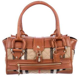 Burberry House Check Manor Tote