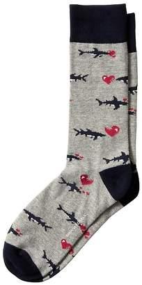 Banana Republic Shark Sock