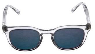 Spektre Mirrored Keyhole Sunglasses