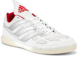 adidas Football Football Predator Precision Beckham Sneaker in White & Silver & Red | FWRD