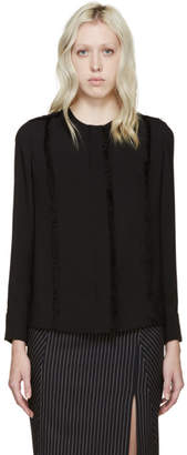 Altuzarra Black Silk Lemiko Blouse
