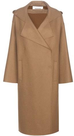 ValentinoValentino Virgin wool and angora coat